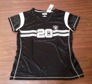 Darren McFadden Oakland Raiders NFL Team Apparel Jersey Shirt Women's Small NWT