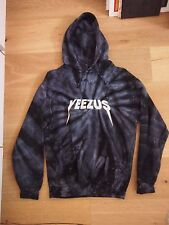Kanye West Yeezus Tour Merch TIE DYE Reaper Roses Hoodie SMALL - *AUTHENTIC*