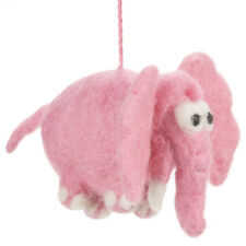 Cute Pink Elephant Hanging Mobile Decoration