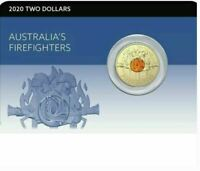 2020 AUSTRALIAS FIREFIGHTERS Coin on Card