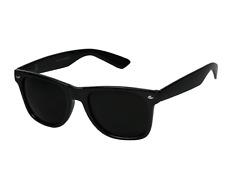 MEN Sunglasses Classic Style Black Frame 100% UV Super Dark Lens NEW