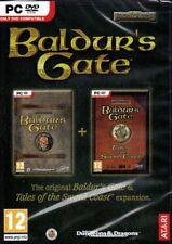 Baldur's Gate Original Saga + Sword Coast (2 PC Games) FREE US Shipping
