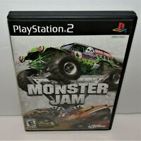Monster Jam (Sony PlayStation 2, 2007) Complete Tested & Working