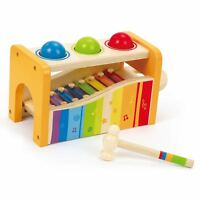Hape POUND AND TAP BENCH Baby/Toddler/Child Wooden Toy/Gift Learning/Fun BN