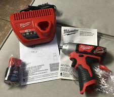 """Milwaukee 2463-20 M12 3/8"""" Impact Wrench Kit Brand New -"""