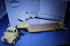 Cleary Brothers Mack 1960 B61 Tandem Axle Lowboy Semi Trailer 1-34 Diecast LTD.