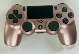 [Official OEM] Sony PS4 DualShock Controller- Rose Gold  (Limited Edition) Used