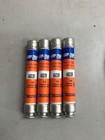 Lot Of 4 - Ferraz Shawmut Amp-Trap A6D3R Dual Element Time Delay Fuse