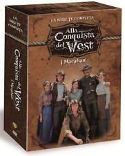 ALLA CONQUISTA DEL WEST - Serie TV Completa (15 Dvd) Sigillato Italiano