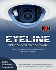 EyeLine Professional Video Surveillance Home 3 User License NCH Software