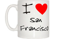 I Love Corazón San Francisco Taza