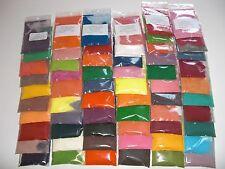 10 sachets de 10G colorant sucre barbe à papa/yaourts  flossine 60 parfums