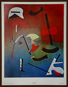 Joan Miro  Vintage Original Lithograph from late 1960s