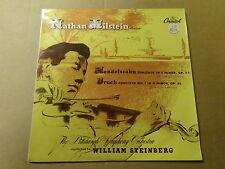 "LP 12"" / MENDELSSOHN - BRUCH - NATHAN MILSTEIN - CONCERTO 64 (CAPITOL, FRANCE)"