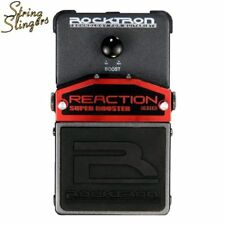 Rocktron Reaction Super Booster Effects Pedal.