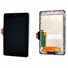 USA  LCD Screen Touch Digitizer Frame For Asus Google Nexus 7 1st 2012 wifi