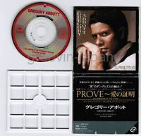 """GREGORY ABBOTT I'll Prove It To You JAPAN 3""""CD 10EP3012 1988 issue Free S&H/P&P"""