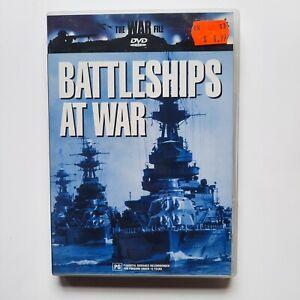 The War File - Battleships At War DVD - V/Good Condition - Free Post - Region 0