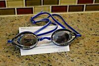 Speedo Vanquisher 2.0 Mirrored Adult Swim Goggle, Blue Adult Size