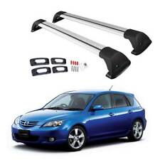 Aero Alloy Cross Bar Roof Rack For MAZDA 3 2004 -2008 Sedan And Hatch Crossbar