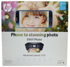 HP Envy Photo 7155 All-In-One Wireless InkJet Printer Copy Scan NEW SEALED BOX