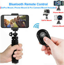 Selfie Phone Tripod for iPhone Flexible with Camera Smartphone GoPro Mount Stand