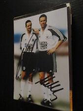 62053 Matthäus & Neuville DFB original signiertes Autogrammfoto