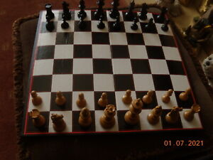 """Vintage Chess Set--About 50 years old--King 2"""" - Complete"""