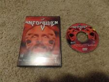 UNFORGIVEN 2001 wwf US RELEASE wrestling dvd wwe STONE COLD