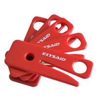 5/10/20pcs Seat Belt Cutters Stainless Steel Razor Blade Seatbelt Cutter RED