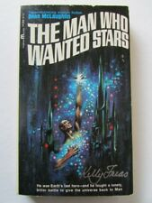 KELLY FREAS COVER SIGNED PB BOOK MAN WHO WANTED STARS DEAN MCLAUGHLIN 1965 s