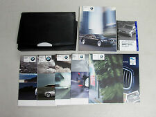 Genuine 2004 BMW 7 Series Owner's Manual Book Set + Wallet