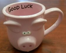 Lorrie Veasey Mug Pig Pink Our Name Is Mud Good Luck