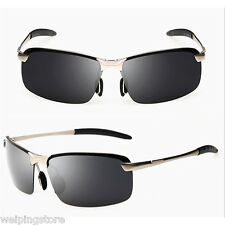 Mens Sunglasses Polarized Aviator Goggles Driving Fishing Eyewear Sun Glasses