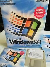 Windows 98 Second Edition.Boot Disk(floppy)+CD With Product Key