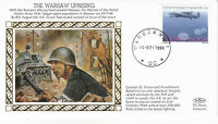 1994 WW2 50th ANNIVERSARY THE WARSAW UPRISING BENHAM SILK COVER SHS