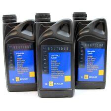 Original Renault Frostschutz Kühlerfrostschutz 3 Liter Glaceol RX Type D Grün