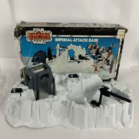Vintage star wars the empire strikes back imperial attack base toy with Box