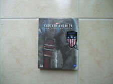 Captain America: The First Avenger (2017, Blu-ray) Full Slip A2 Steelbook