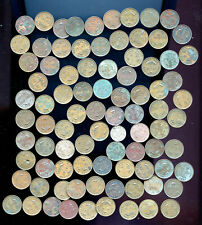 Super Lot of 86 Newfoundland small cents Filler - EF No reserve