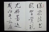"Very Large Old Chinese Hand Painted Handwriting Calligraphy Book ""QiGong"" Marks"