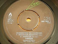 "VARDIS - GUARANTEED NO OVERDUBS   7"" VINYL EP"