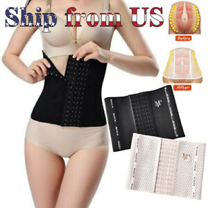 Postpartum Belt Belly Waist Trainer Wrap Body Shaper Support Recovery Girdle US