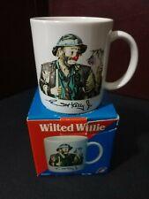 Emmett kelly jr flambro clown Wilted Willie Mug 1987