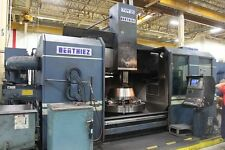 BERTHIEZ TVM 125  CNC VERTICAL BORING MILL WITH LIVE MILLING, FANUC 15, NEW: 97