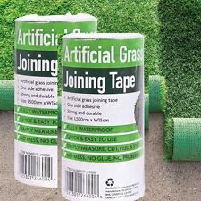 2x ARTIFICIAL GRASS TAPE SELF ADHESIVE JOINING JOINTING FIXING TURF TAPE 5m-15cm