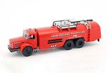 Berliet GBO Sides VMR 130 Feuerwehr Truck Frankreich rot 1:43 Atlas