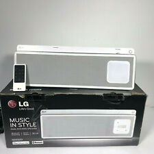 LG wireless Speaker with Dual Dock ND5520 Bluetooth Ready With Remote iPhone