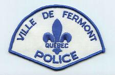 Ville de Fermont Police, Quebec, Canada HTF Vintage Uniform/Shoulder Patch