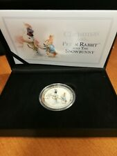 Peter Rabbit and Snowbunny Silver Medal 2018 Very Low COA
